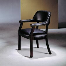 <strong>Wildon Home ®</strong> Vinyl Captain Arm Chair