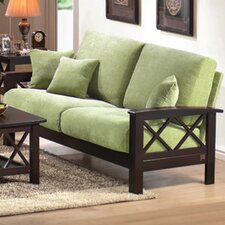 <strong>Wildon Home ®</strong> Mission Style Chenille Sofa