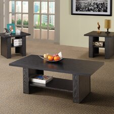<strong>Wildon Home ®</strong> Youngtown 3 Piece Coffee Table Set