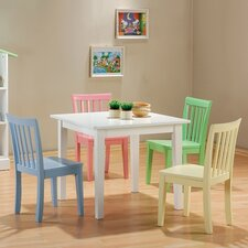 Fort Stevens Kids' 5 Piece Table and Chair Set