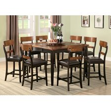 <strong>Wildon Home ®</strong> Adams 9 Piece Counter Height Dining Set