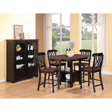 <strong>Wildon Home ®</strong> Hemingway 5 Piece Counter Height Dining Set