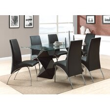 William 7 Piece Dining Set