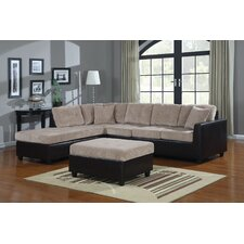 <strong>Wildon Home ®</strong> Elowe Corduroy Sectional