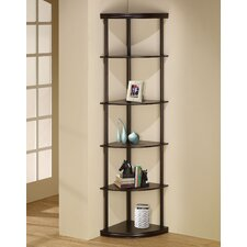 "<strong>Wildon Home ®</strong> 72"" Corner Bookcase"