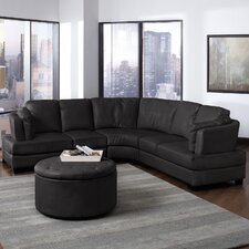<strong>Wildon Home ®</strong> Chelsea Bonded Leather Sectional