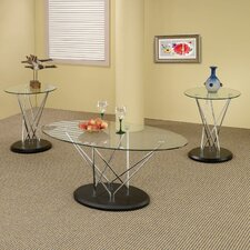 <strong>Wildon Home ®</strong> 3 Piece Coffee Table Set