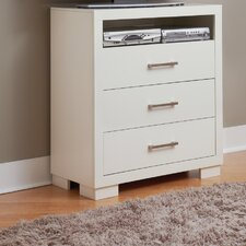 <strong>Wildon Home ®</strong> Bay 3 Drawer Media Chest