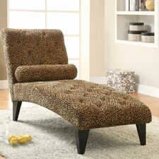 <strong>Wildon Home ®</strong> Velvet Chaise Lounge