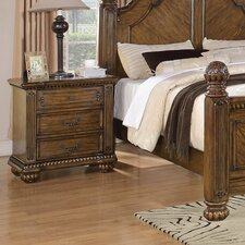 <strong>Wildon Home ®</strong> Backbay 3 Drawer Nightstand
