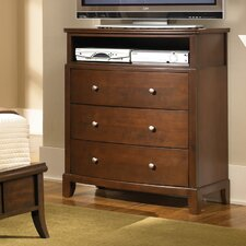 <strong>Wildon Home ®</strong> Audrey 3 Drawer Media Chest