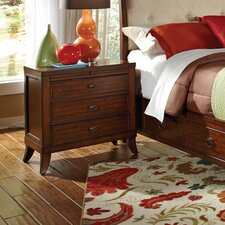 David 3 Drawer Nightstand