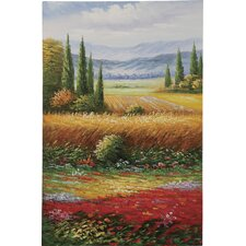 Countryside Colors Oil Painting Art