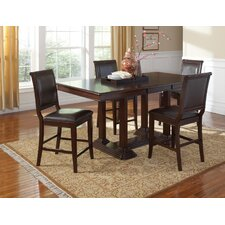 <strong>Wildon Home ®</strong> Andrew 5 Piece Counter Height Dining Set