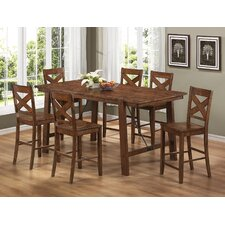 <strong>Wildon Home ®</strong> Tyler 7 Piece Counter Height Dining Set