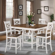 Brittany 5 Piece Counter Height Dining Set