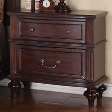 Virginia 2 Drawer Nightstand