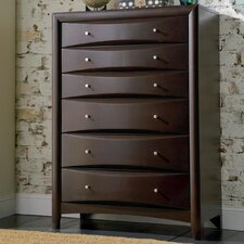 <strong>Wildon Home ®</strong> Applewood 6 Drawer Chest