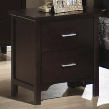 <strong>Wildon Home ®</strong> Morgan 2 Drawer Nightstand