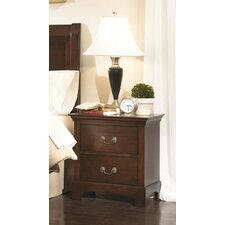 <strong>Wildon Home ®</strong> Tiffany 2 Drawer Nightstand