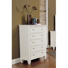 <strong>Wildon Home ®</strong> Glenmore 5 Drawer Chest