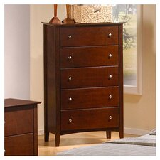 <strong>Wildon Home ®</strong> Stoneham 5 Drawer Chest