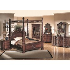 <strong>Wildon Home ®</strong> Corina King Four Poster Bedroom Collection