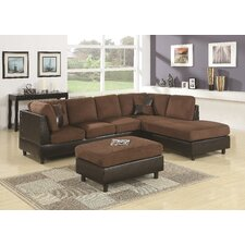 Aniela Eazy Rider Sectional with Ottoman