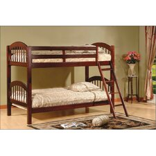 <strong>Wildon Home ®</strong> Twin Over Twin Bunk Bed