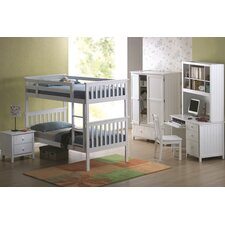 <strong>Wildon Home ®</strong> Avalon Twin over Twin Bunk Bed