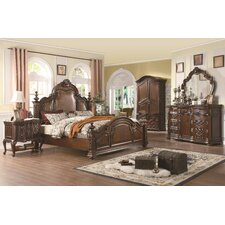 <strong>Wildon Home ®</strong> Ramses Pannel Bedroom Collection