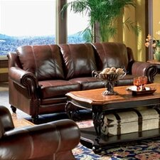 Harvard Leather Sofa