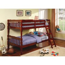 <strong>Wildon Home ®</strong> Seattle Twin over Twin Bunk Bed