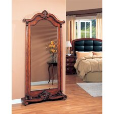 "<strong>Wildon Home ®</strong> 84"" H x 42"" W Rock Island Floor Mirror"