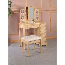 <strong>Wildon Home ®</strong> Woodway Vanity Set with Mirror
