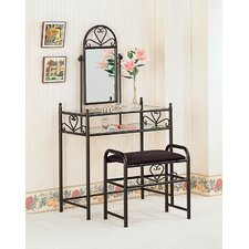 Bullhead City Vanity Set with Mirror