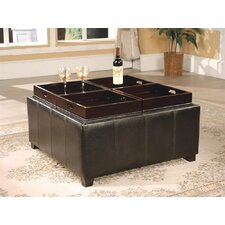 <strong>Wildon Home ®</strong> Square Cocktail Ottoman
