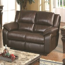 <strong>Wildon Home ®</strong> Baxtor Leather Reclining Loveseat