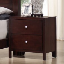 Josco 2 Drawer Nightstand