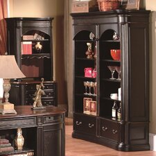 Kahlua Double Bookcase