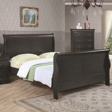 <strong>Wildon Home ®</strong> Louis Philippe Sleigh Bed