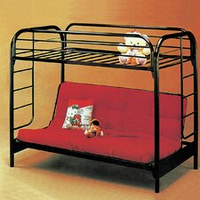 <strong>Wildon Home ®</strong> Twin Over Full Futon Bunk Bed