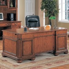 <strong>Wildon Home ®</strong> Viscante Executive Desk