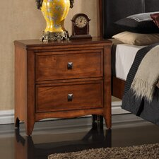 <strong>Wildon Home ®</strong> Vivon 2 Drawer Nightstand
