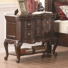 <strong>Wildon Home ®</strong> Ramses 2 Drawer Nightstand