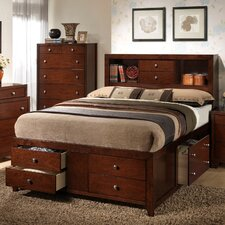 <strong>Wildon Home ®</strong> Weber Storage Panel Bed