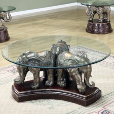 <strong>Wildon Home ®</strong> Dahlia Coffee Table