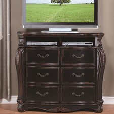 <strong>Wildon Home ®</strong> Cappelle 6 Drawer Media Chest