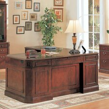 <strong>Wildon Home ®</strong> Youngtown Executive Desk