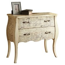 <strong>Wildon Home ®</strong> 2 Drawer Bombe Chest
